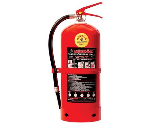 9 KG KURU KİMYEVİ TOZLU YANGIN SÖNDÜRME CİHAZI, yangın söndürme cihazı, kimyevi tozlu yangın söndürme cihazı,yangın söndürme tüpü