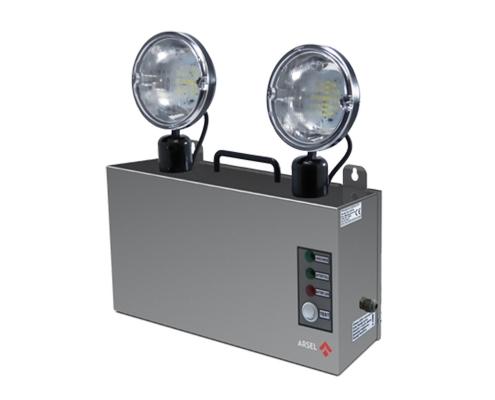 VERSALITE INOX ACİL AYDINLATMA ARMATÜRÜ,acil aydınlatma armatürü, acil yangın aydınlatma