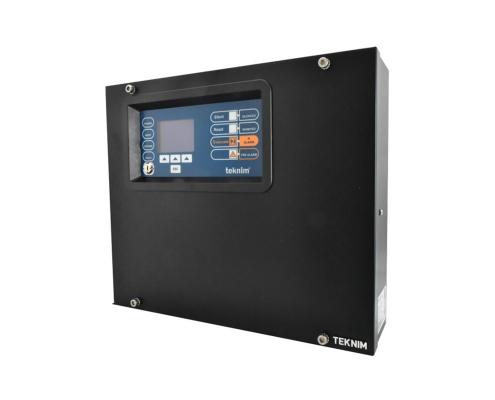 TFP-908 8 BÖLG.GENİŞLETİLEBİLİR KONVENSİYONEL YANGIN ALARM PANELİ LDC EKRAN,yangın alarm paneli, konvansiyonel yangın alarm paneli