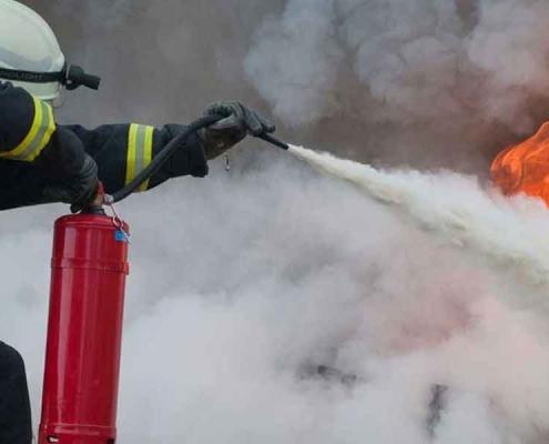 Kimyevi Tozlu Yangın Söndürme Cihazı Nedir?
