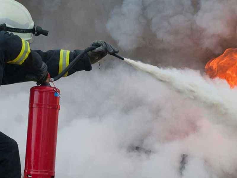 yangın söndürme, Kimyevi Tozlu Yangın Söndürme Cihazı Nedir?