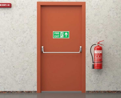 yangın çıkış kapısı acil çıkış kapısı