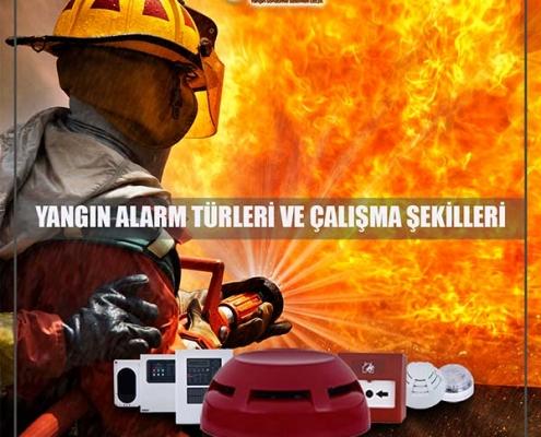 Yangın Alarm Türleri ve Çalışma Şekilleri
